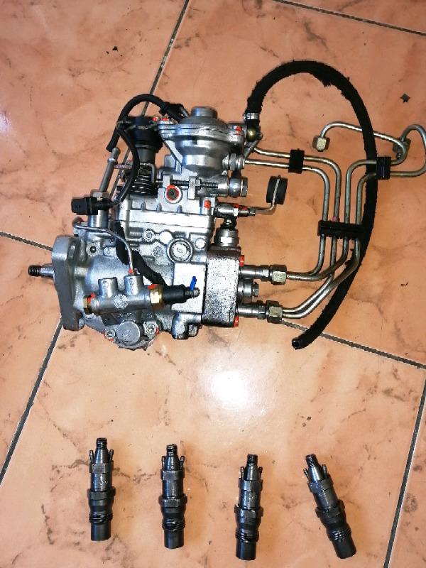 Fiat strada 1.7d pump and injectors R7000