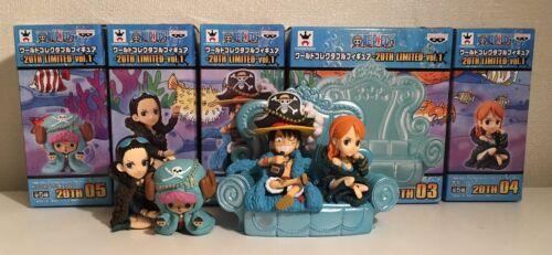 Banpresto One Piece 20th Limit Edition Collectible Vol.1 Figure Team Set BP37694