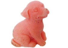 Small Dog 3D Soap Mould Flexible Silicone Cookie Mold Chocolate Mould R0631