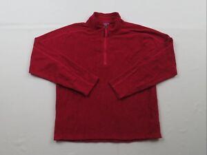 Marmot-Red-1-4-Zip-Pullover-Fleece-Jacket-Shirt-Girls-XL-Youth-Kids-Ski-Hiking