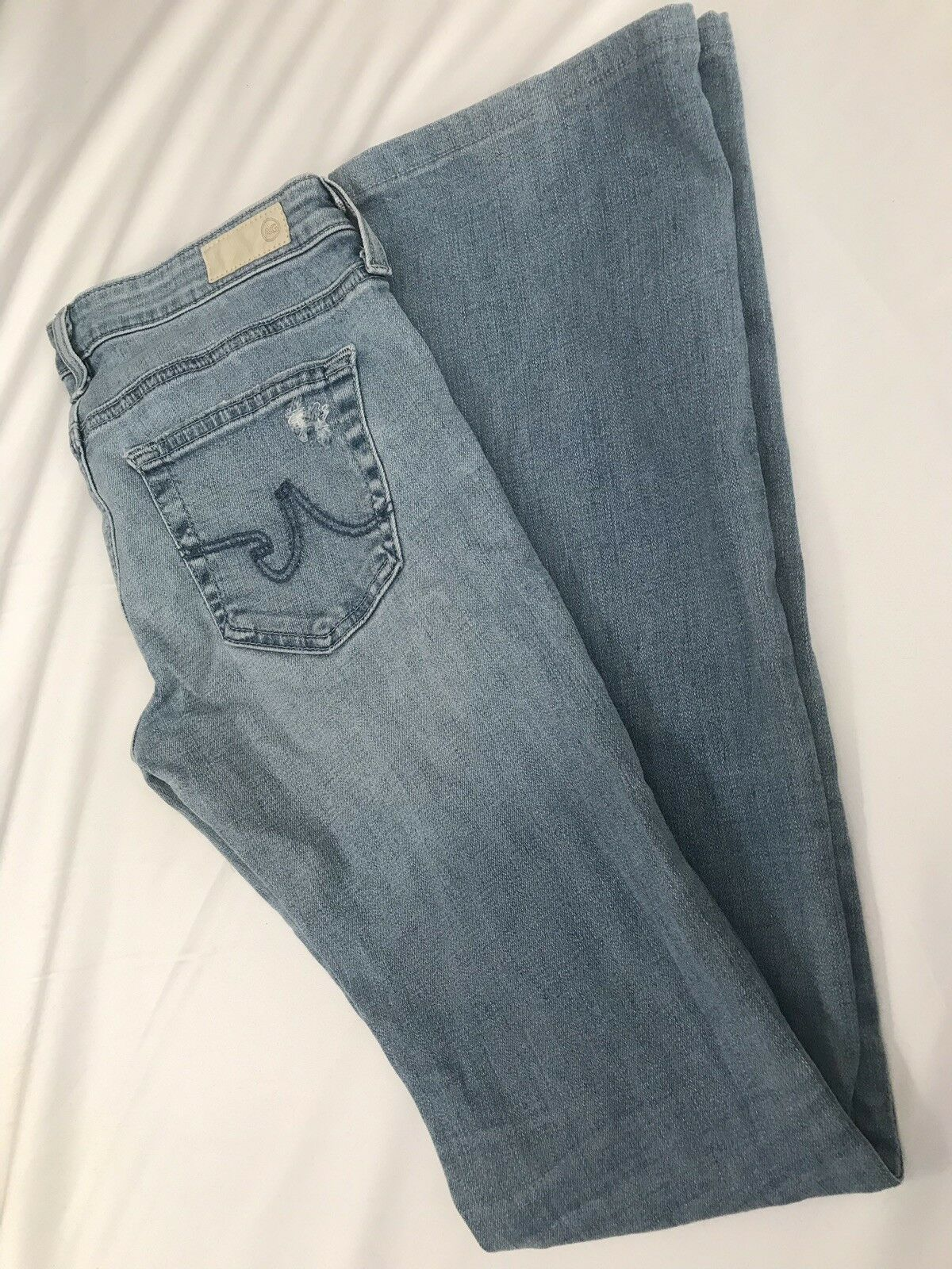 AG ADRIANO goldSCHMIED Women's The Olivia Skinny Boot Cut Size 26 R