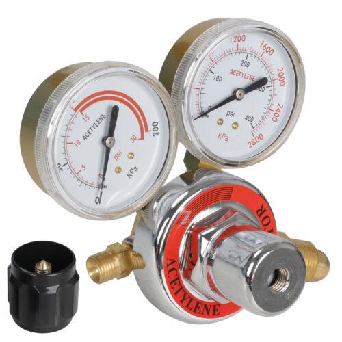 Gas Welding /& Cutting Kit Acetylene Oxygen Torch Set Regulator w// Free 3 Nozzles
