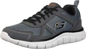 Skechers-Track-scloric-52631-bkrd-Scarpe-da-Ginnastica-Basse-Uomo-52631-CC