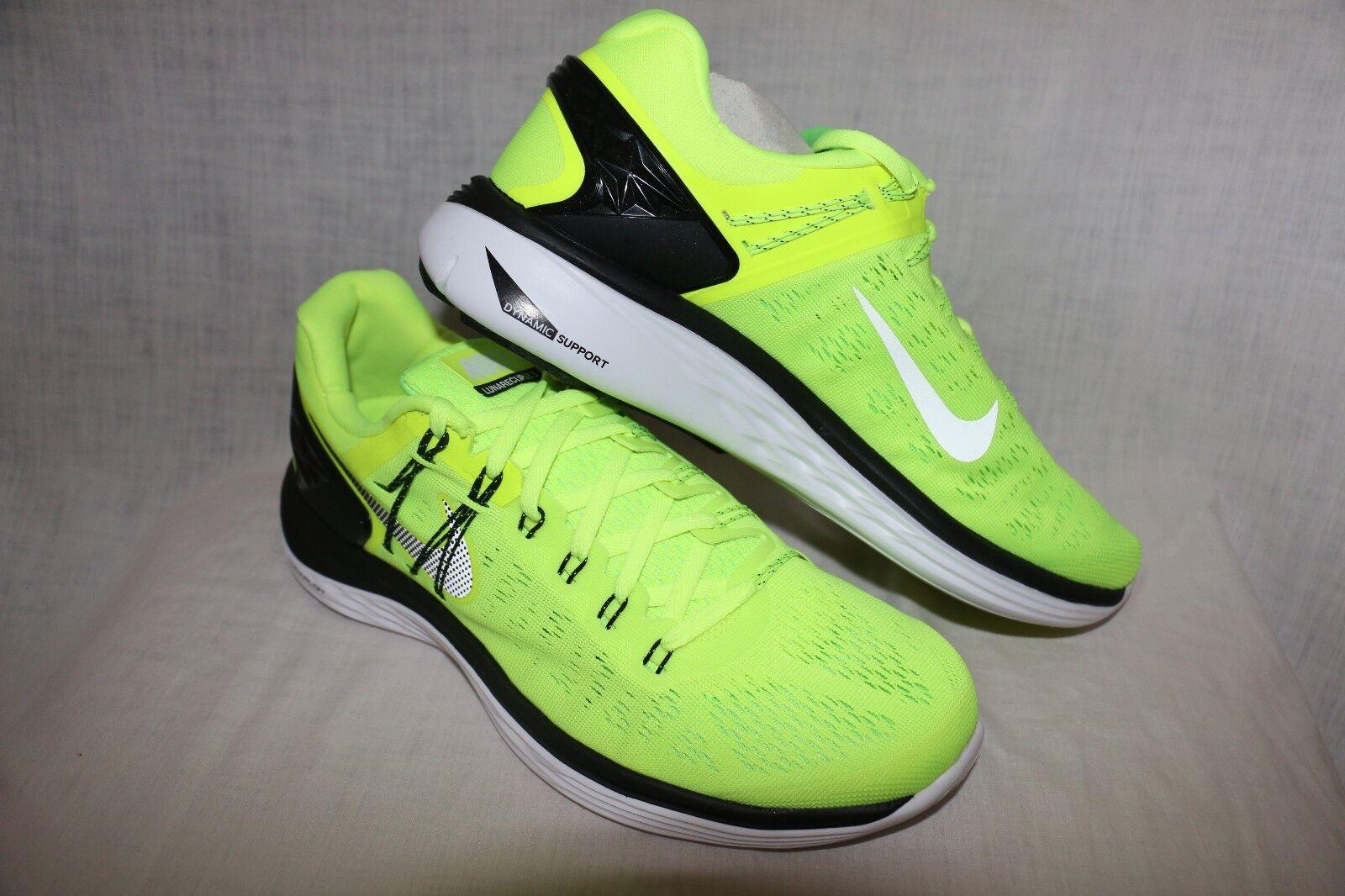 Nike Lunar Eclipse 5 Athletic Running  - Volt/White-Flash Lime10,11,12,14