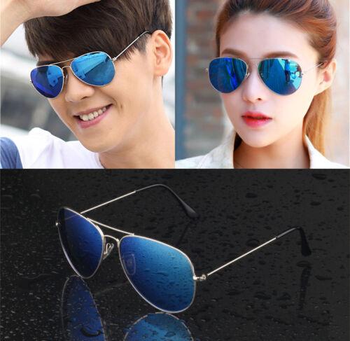 Unisex Women Men Fashion Vintage Mirror Lens Sunglasses Vintage Retro Glasses US