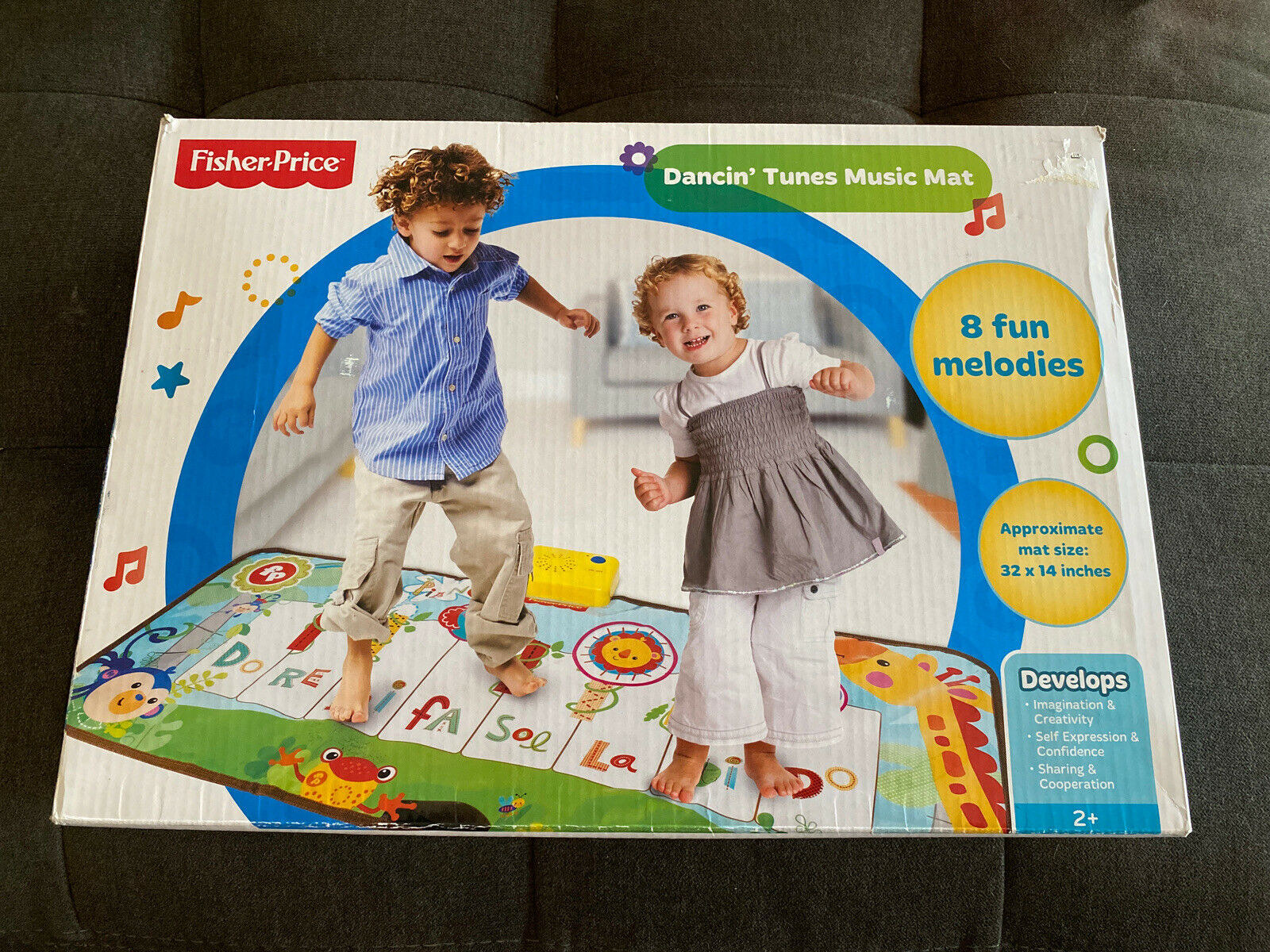Fisher Price Musical Keyboard Piano Floor Dancing Tunes Step On Mat