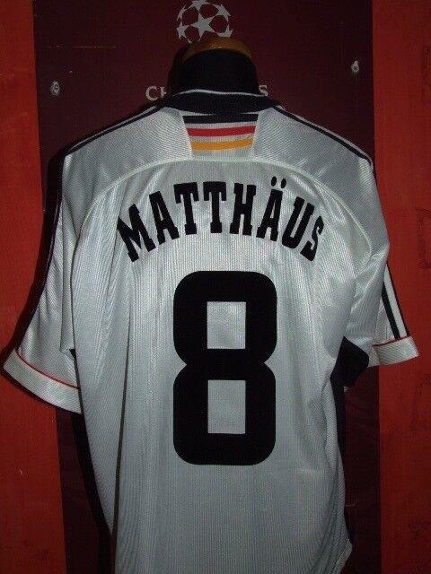 MATTHAUS GERMANY WC 1998 MAGLIA SHIRT CALCIO FOOTBALL MAILLOT JERSEY CAMISETA.