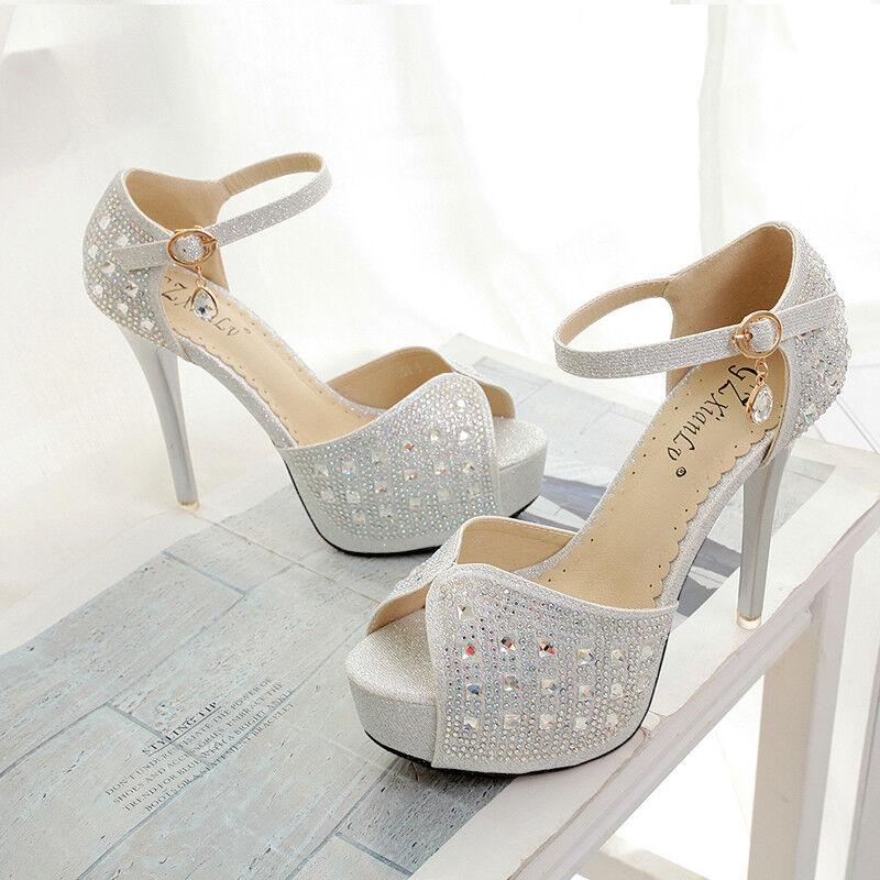 Sandali eleganti sabot stiletto 13 cm tacco siver  simil pelle eleganti 9894