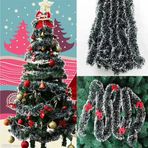 Details About Charm Xmas Tree Hanging Ornament Diy Christmas Party Garland String Ribbon 2m