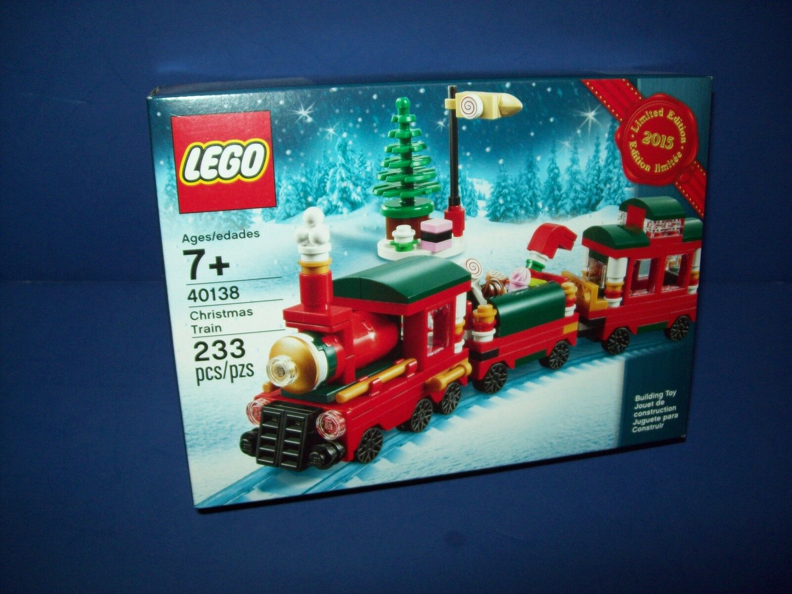 LEGO 40138 CHRISTMAS TRAIN  Factory Sealed 2015 Limited Edition Holiday new