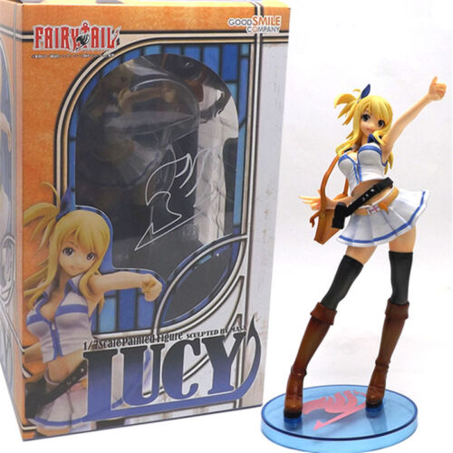 "Anime Fairy Tail Figure Lucy Heartfilia Figure Model PVC New Boxed 25cm 9/"" Gift"