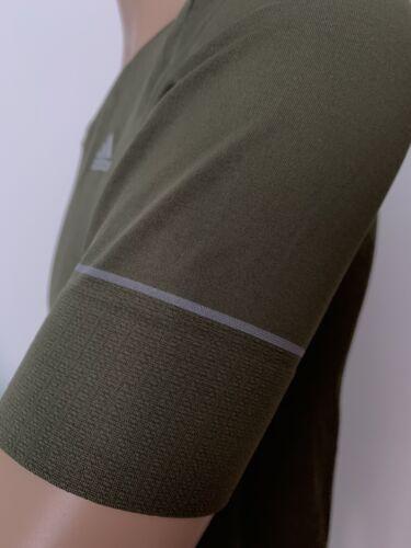 Adidas Damen Fitness T-Shirt SN PMKNIT S//S Grün Gr.M M62456 NEU