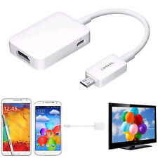 Micro USB MHL 2.0 To HDMI HDTV Adapter Cable For Galaxy S3 S4 S5 Note 2 Hi-Q