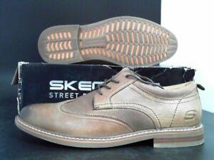 Skechers-Bregman-Morago-Dress-Collection-Oxford-Men-039-s-Size-10-5-US-Preowned