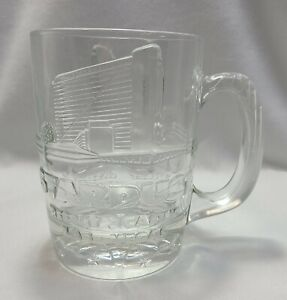 Stardust-Casino-Las-Vegas-Heavy-Thick-Glass-Mug-Large-3D-Vintage