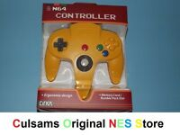 Nintendo 64 N64 (pikachu-yellow) Controller With A 30 Day Guarantee