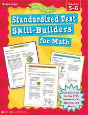 Standardized Test Skill Builders for Math (5-6) (Ready-To-Go Reproducibles)