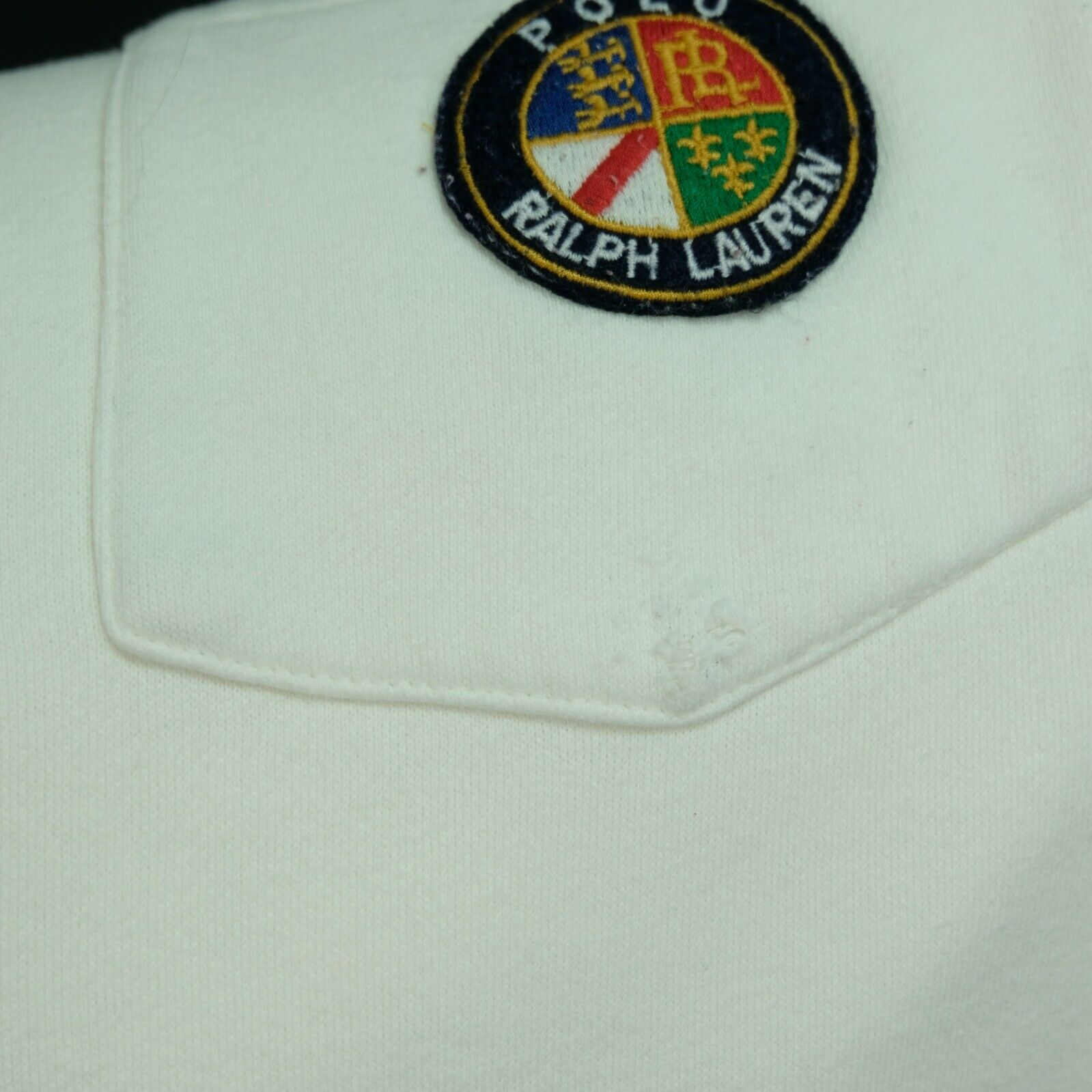Rare VTG RALPH LAUREN Polo Spell Out Cookie Patch… - image 10