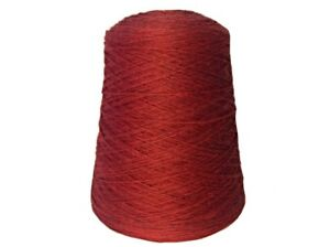Brown Sheep Nature Spun Fingering Weight Pomegranate Wool Yarn on Cone