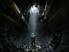 POSTER METRO 2033 REDUX 2034 LAST NIGHT ARTYOM MOSCA HORROR VIDEOGAME PC PS4 #9