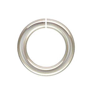 sterling silver 7mm 19ga open jump rings 7mm open jump