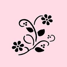 WILDFLOWER STENCIL FLOWERS PAINT ART CRAFT FLOWER TEMPLATE NEW BY STENSOURCE