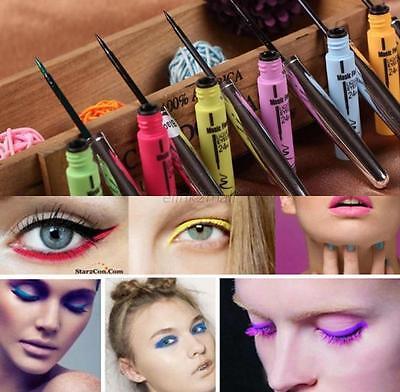 Sexy Waterproof Colorful Eyeliner Liquid Gel Beauty Make Up Eye Liner Pencil Pen