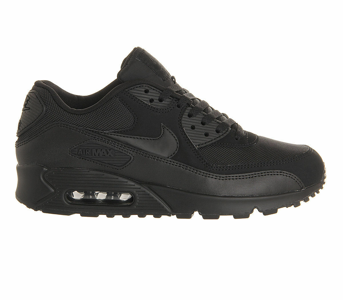 NIKE AIR MAX 90 ESSENTIAL TRIPLE BLACK ALL SIZE
