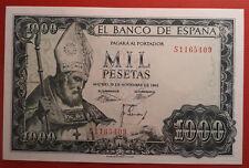 SPAIN / EXCELENTE BILLETE 1000 PESETAS 1965 S. ISIDORO ( SC) UNC / SERIE S