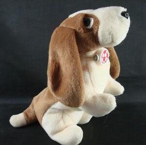 Image is loading TY-Beanie-Babies-TRACKER-Basset-Hound-Dog-1997- e1d32c70e5c