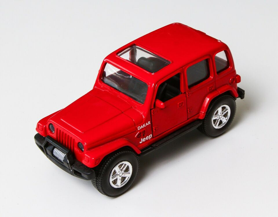Modelbil, Speedy Power Jeep Dakar, skala 1:32