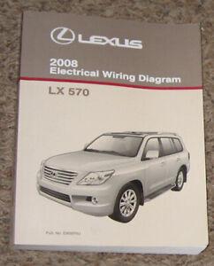 2008 LEXUS LX570 Electrical Wiring Diagram Service Shop Manual Book_EWD_OEM  | eBayeBay