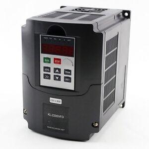 2 2kw vfd motor speed controller kl vfd22 ebay for Vfd for 3hp motor