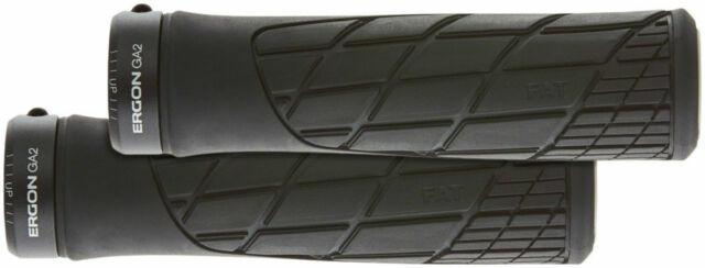Ergon GA2 Fat Grip Black Lock-On Handlebar Grips