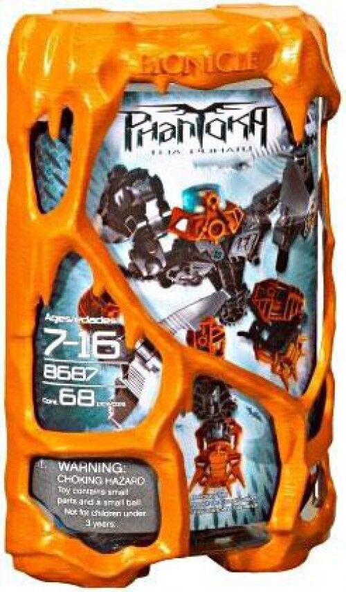 LEGO Bionicle Phantoka Toa Pohatu Set  8687