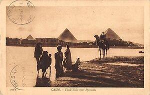 BF8995 cairo egypt flood time nea pyramids types     Egypt