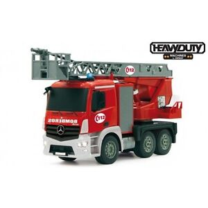 Coche-Radiocontrol-Heavy-Duty-Camion-Bombero-RTR-2-4Ghz-Juguete-Rc-Ninco-NT10030