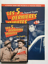LES 5 DERNIERES MINUTES .. DVD N°16 + FASCICULE ... RAYMOND SOUPLEX