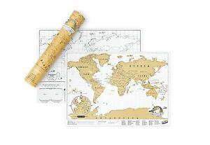 Carte-Du-Mundo-pour-Scratch-Memoire-Voyage-Cadeaux-Educatifs-Enfant-Decoration