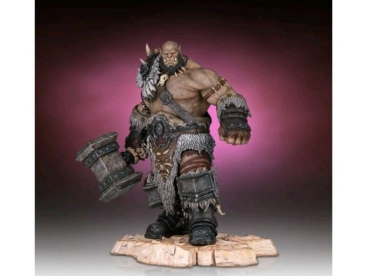 Other Statues--Warcraft Movie - Orgrim Statue