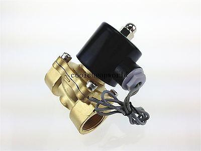 """Electric Solenoid Valve Water Air N/C 12V DC 3/4"""""""