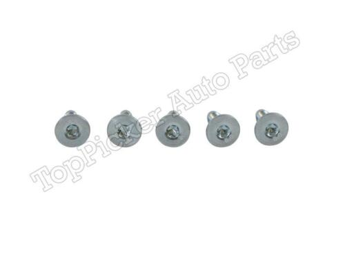 QTY=5 FOR 08-12 FORD SUPER DUTY FOR CONNECTING REAR BUMPER CAP /& REBAR SCREWS