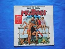 """Diverse - Meatballs - (LP Vinyl NEW) Soundtrack 12"""" Rock Disco Electronic 33 rpm"""