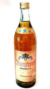 Mode 2019 Veb Ours Sceau Berlin Burgkrone Cognac Original Rda 38% Vol Ppe 30,00 M-afficher Le Titre D'origine Belle En Couleur