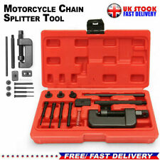 15PCS HEAVY DUTY MOTORCYCLE BIKE CHAIN SPLITTER/BREAKER LINK RIVETING TOOL KIT