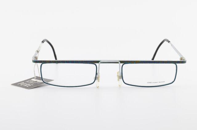 CHAI Brille Mod. Ba Fg11 493 50[]22 150 Crazy Vintage Eyeglasses Frame Square