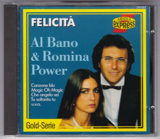 AL BANO & ROMINA POWER - FELICITA - CD ALBUM ARIOLA GERMANY