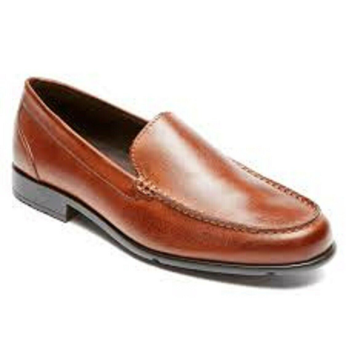 Rockport  Mens classeic Lite Venetian Slip-On Loafer- Cognac- Sz 13