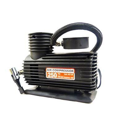 Tyre Compressor Pump 12V DC Car and Bike Inflator 250 PSI