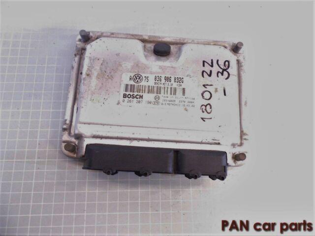 Motosteuergerät Steuergerät ECU Bosch 0261207190 036906032G ME7.5.10